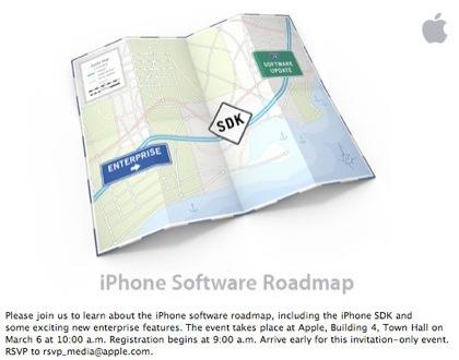 Evento de Apple y el SDK del iPhone el próximo día 6 de marzo