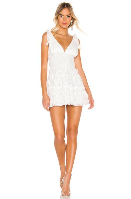 Vestido Blanco Verano 2019 09