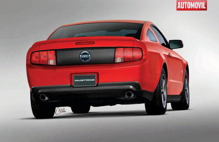 2010 Ford Mustang Render