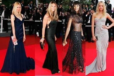 Cannes y las modelos
