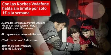 Noches Vodafone para hablar a cero si tienes tarjeta prepago