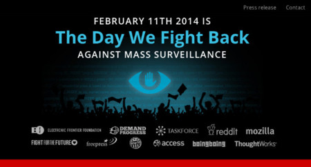 """11 de febrero: el día en el que la red """"contraataca"""" contra la vigilancia masiva de la NSA"""