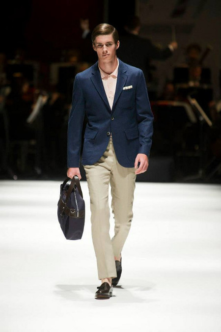 Hackett London SS 14  blue blazer