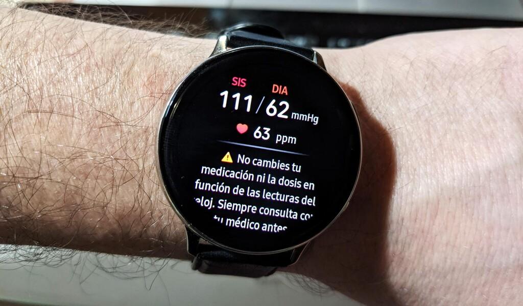 El Samsung℗ Galaxy℗ Watch Active2 recibe por fin el ECG y la compresión arterial: actualización ya en España