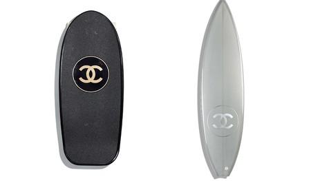 El deporte y el glamour no están reñidos si Chanel está de por medio con sus nuevas tablas de skate y surf