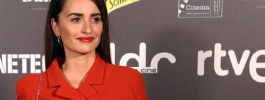 Penélope Cruz, más juvenil y desenfadada que nunca, en los premios 'Días de Cine' en Madrid