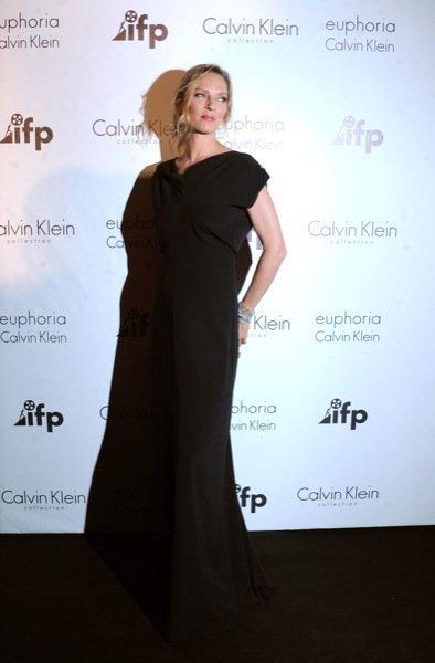 Uma Thurman Cannes Calvin Klein
