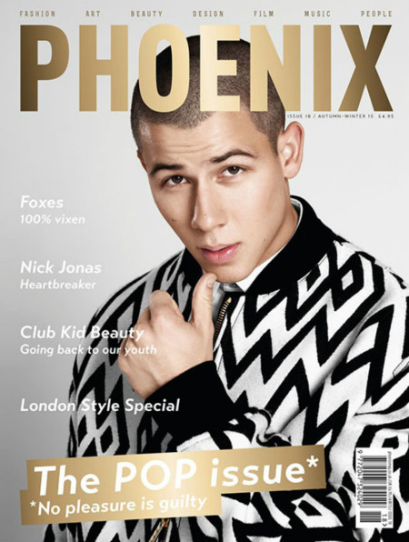 Nick Jonas 2015 Phoenix Cover