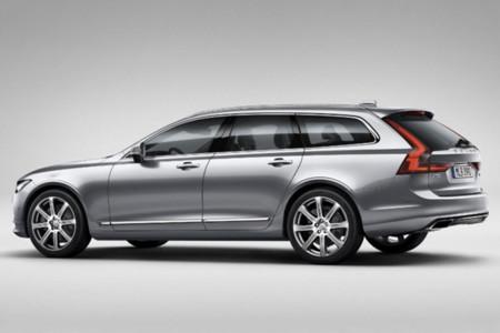 Estas son las primeras fotos oficiales y filtradas del Volvo V90