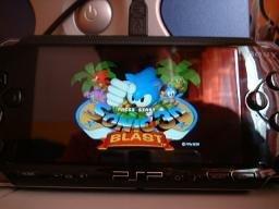 Emulador de Megadrive para PSP