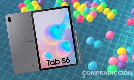 La tableta perfecta para seguir conectado estas vacaciones cuesta ahora 220 euros menos en Amazon: Samsung Galaxy Tab S6 6GB+128GB LTE por 550 euros