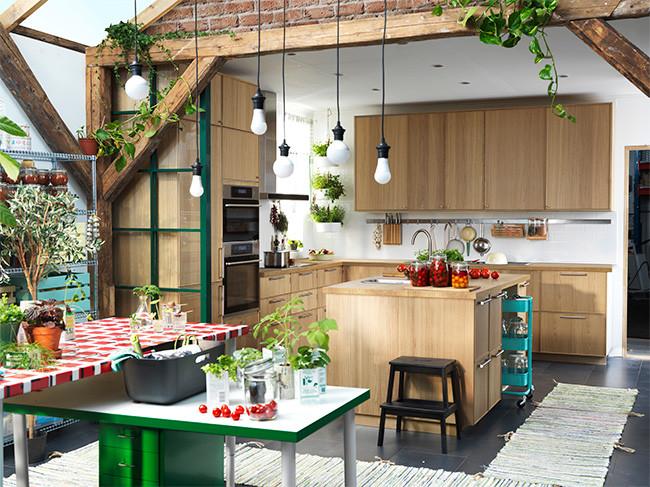 Cat logo cocinas ikea 2016 ya lo tenemos a la carta for Cocinas rusticas ikea