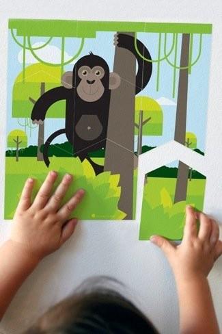 Puzzles de pared para dormitorios infantiles