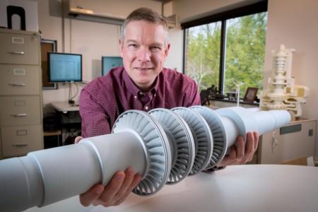 Esta turbina tiene el tamaño de un escritorio, pero es capaz de dar energía a 10.000 casas