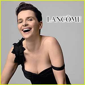 Juliette Binoche regresa como imagen de Lancôme