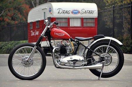 Triumph Thunderbird Drag Bike, cuando los niños se hacían hombres ganando carreras