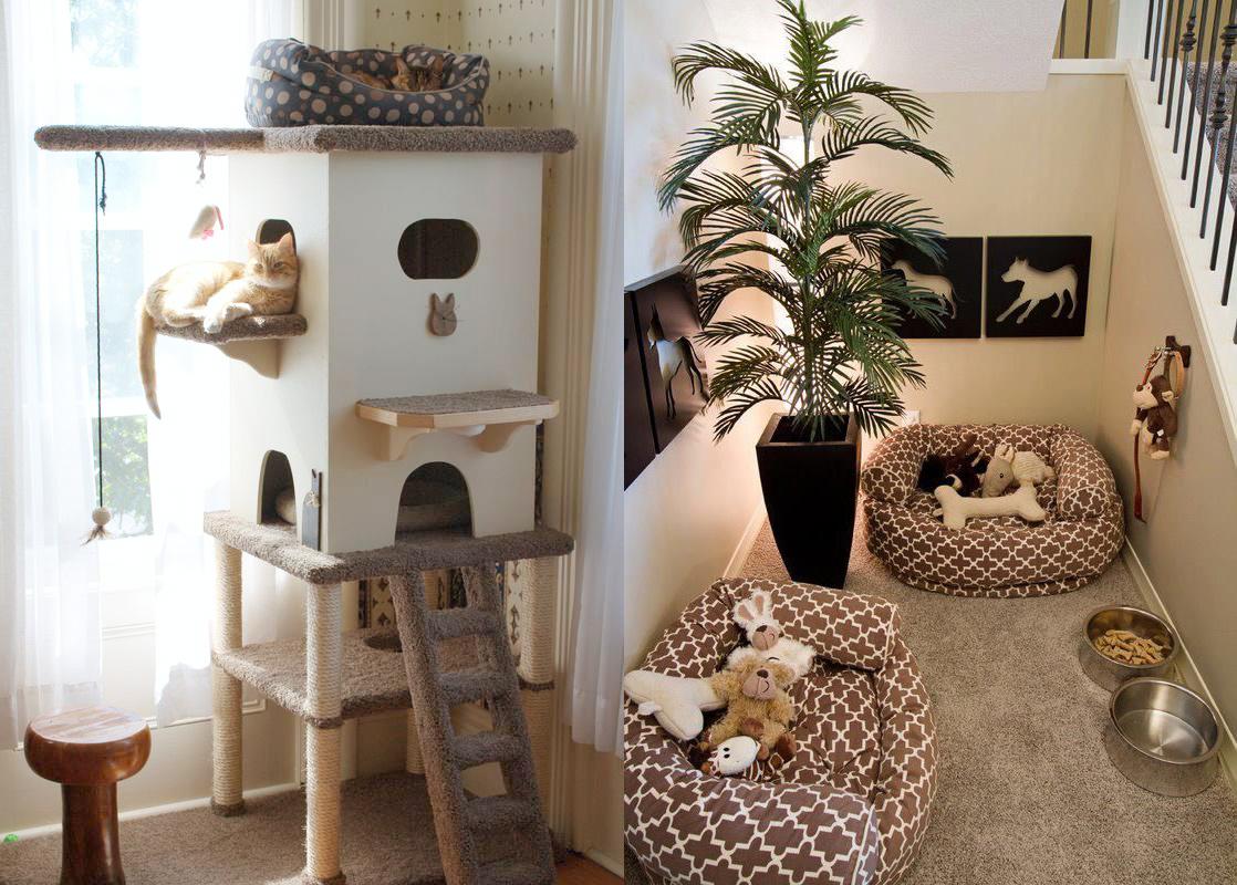 Dog Room Ideas Under Stairs Decor