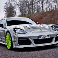 770 CV y 980 Nm de par: el toque ácido de TechArt para el Porsche Panamera Turbo S E-Hybrid Sport Turismo