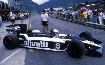 Elio de Angelis Brabham BT55