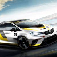 Opel Astra TRC también se presentará en Frankfurt