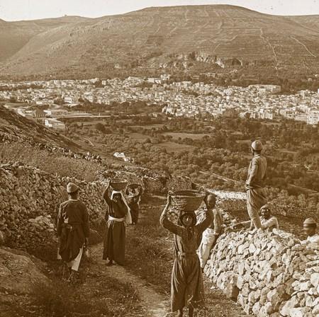 La Region De Siquem Donde Aun Perviven Las Ruinas De La Antigua Ciudad