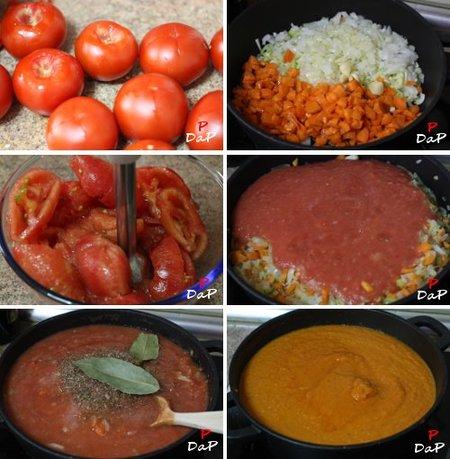 Cómo se hace la salsa de tomate