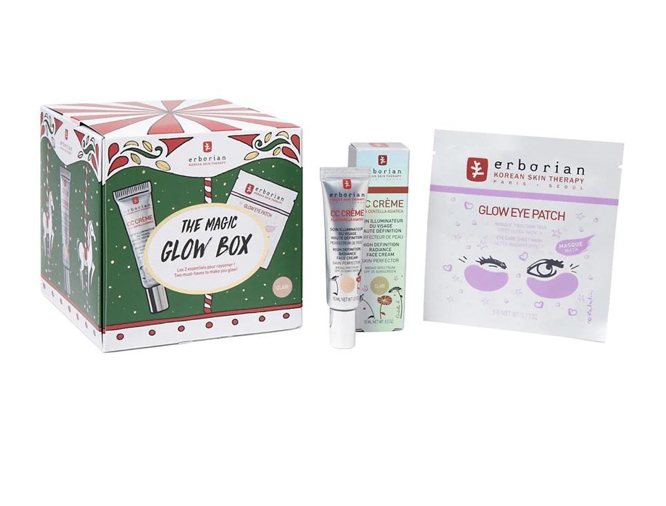 Kit de tratamientos faciales The Magic Glow Box de Erborian
