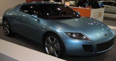 Concept car de Ford diseñado por Pinifarina