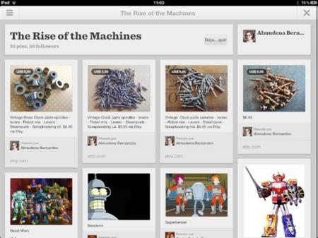 Pinterest lanza su aplicación oficial para iPad