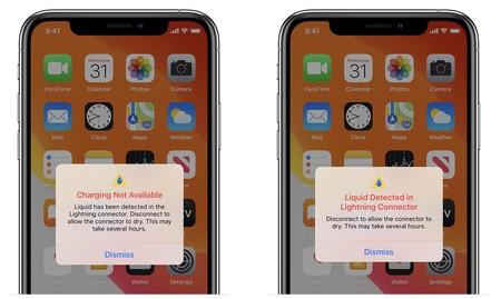 Deteccion De Liquidos En Iphone