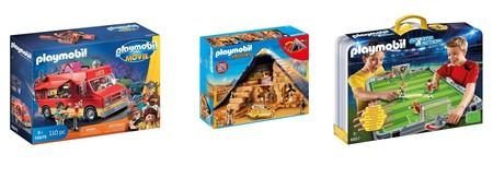 Ofertas de Amazon en   Playmobil con descuentos directos en varios sets para todas las edades