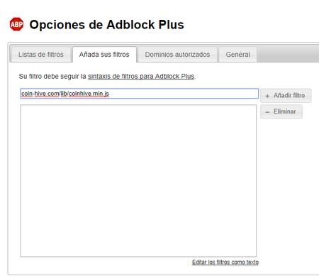 Opciones De Adblock Plus