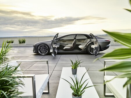 Audi Grandsphere Concept 2021 012