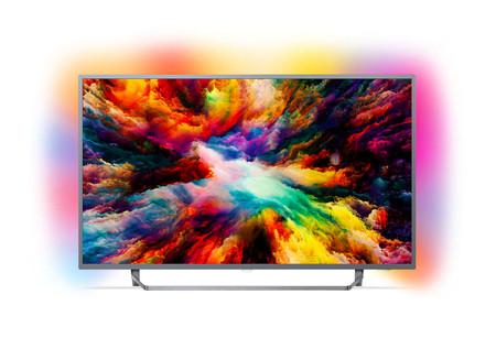 Televisor de 55 pulgadas Philips 55PUS7303, con Android TV y Ambilight, por 599 euros en El Corte Inglés