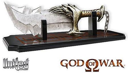 Las espadas de 'God of War' a la venta