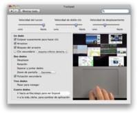 Gestos de 4 dedos en todos los Macs multitáctiles