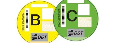 Distintivo ambiental: qué es, qué declarar hay y cómo conocer el de tu coche con la matrícula