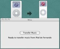 Probamos Misu y la transferencia de música entre dos iPod