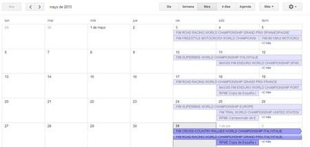 Calendario de competiciones internacional y nacional, 31 de mayo al 2 de junio