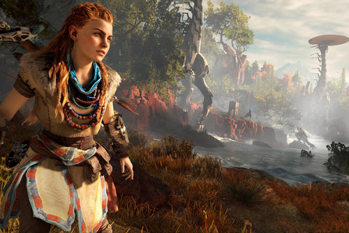 Aloy, la guerra virtual a través de menús y el diseño narrativo. All Your Blog Are Belong To Us