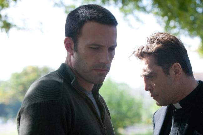 Ben Affleck junto a Javier Bardem en To The Wonder