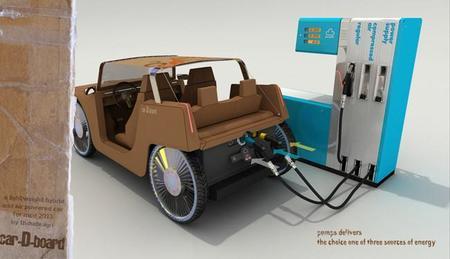 car-D-board carga