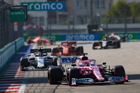 Perez Rusia F1 2020