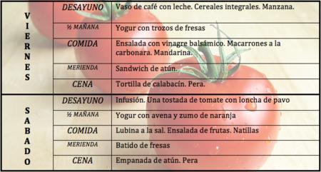 Tu dieta semanal con Vitónica (IV)