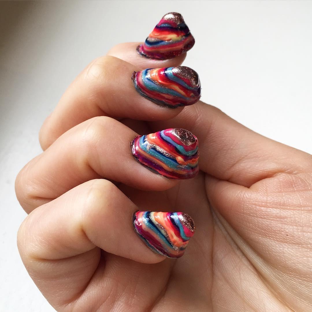 Самые ужасные дизайн ногтей фото