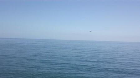 Dron Sobre El Agua