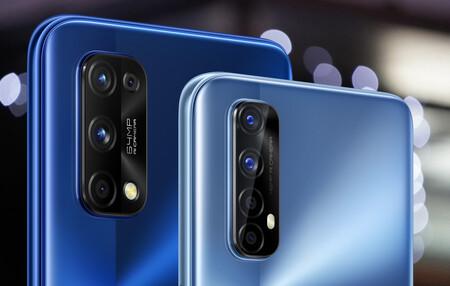 Cuádruple objetivo y 48/ 64 Mpíxeles para un móvil de gama media: así son las cámaras de los nuevos Realme 7 y Realme 7 Pro