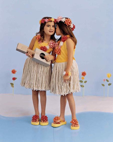 Disfraces Facil Barato Ninos Hawaianas