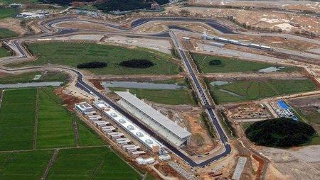 El Circuito de Yeongam estará a tiempo para el GP de Corea... con un poco de suerte según Bernie Ecclestone