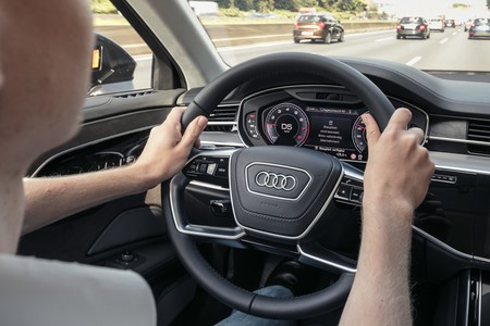 Audi A8 2018 Ai Traffic Jam Assist 10